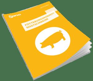 Cover Fütterungsratgeber Mastschwein - Sano Moderne Tierernährung