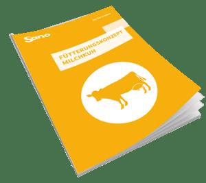 Cover Fütterungsratgeber für Milchkühe - Sano Moderne Tierernährung